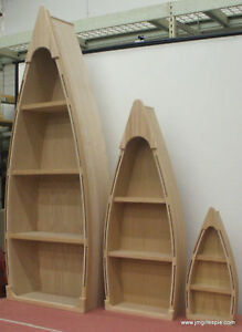 6 Foot Row Boat Bookshelf Bookcase Shelf Nautical Cabin and Office Decor Hand | eBay