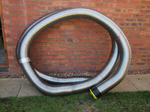 ... INCH TWIN WALL STAINLESS STEEL FLEXIBLE FLUE CHIMNEY LINER 8 METRES