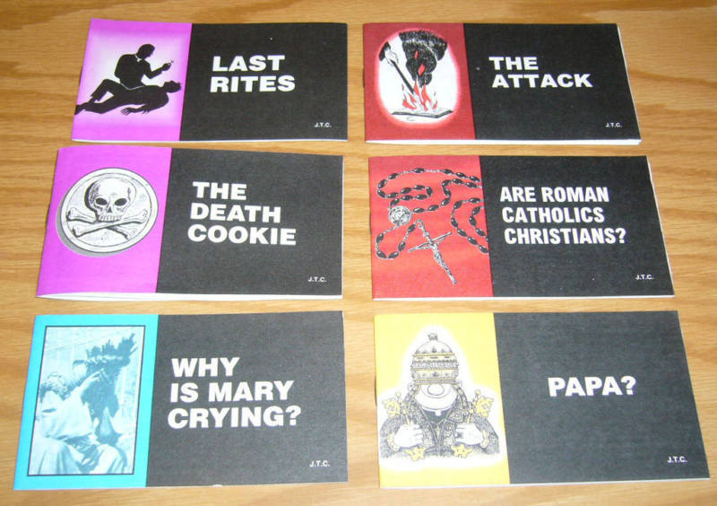 Jack Chick anti-Catholic tracts