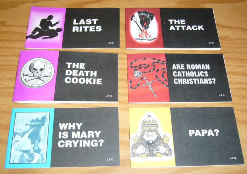 Jack Chick anti-Catholic tracts