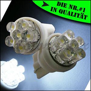 6-LED-Xenon-Weiss-White-T10-Standlicht-Kennzeichenbeleuchtung-w5w-Beleuchtung