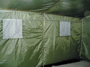 6 mann army zelt partyzelt festzelt bw bundeswehr oliv. Black Bedroom Furniture Sets. Home Design Ideas