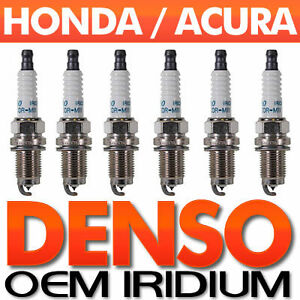 2002 Acura  on Pc Acura Honda Spark Plug Set Genuine Denso Iridium Long Life Specs
