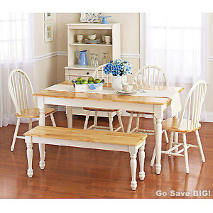 Dining Table Furniture: Farmhouse Dining Table And Chairs