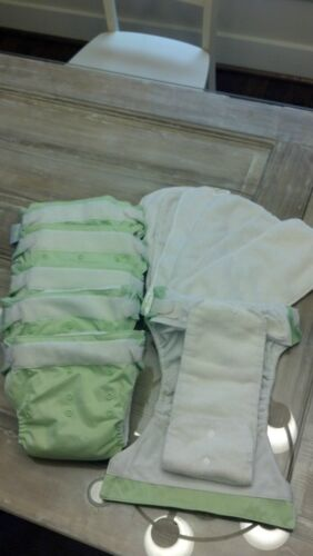 6 Used Bum Genius All in One Cloth Diapers in Baby, Diapering, Cloth Diapers | eBay