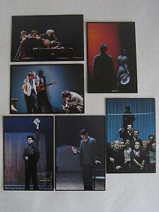 6-x-Postkarten-Anton-Tschechow-Theater-Buehne-Die-Moewe-Onkel-Wanja-Platonow-Kunst