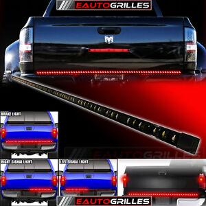 red tailgate led strip light bar tail lights truck pick up ebay. Black Bedroom Furniture Sets. Home Design Ideas