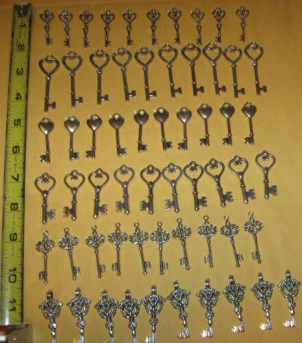 60 VINTAGE Antique Skeleton KEYS KEEPSAKE Replicas WEDDING CHARMS SEATING CARDS in Collectibles, Tools, Hardware & Locks, Locks, Keys | eBay