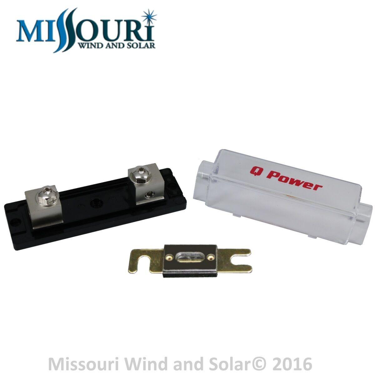 200 Amp Fuse And Holder 4 Inverter Wind Turbine Wind