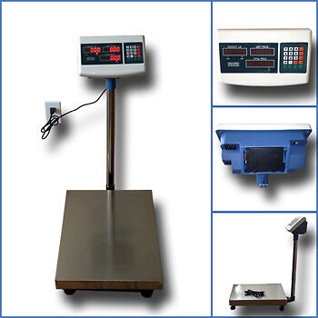 600LB Bench Shipping Weight Digital Counting Scale Warehouse Platform Mailing in Business & Industrial, Packing & Shipping, Shipping & Postal Scales | eBay