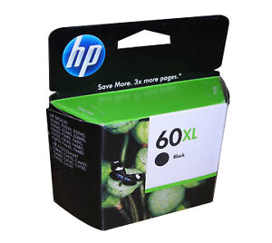 60XL (CC641WN) Black Ink Cartridge