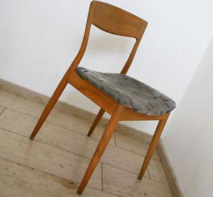 60er jahre casala stuhl vintage chair mid century chair danish optik retro ebay - Mid century stuhl ...