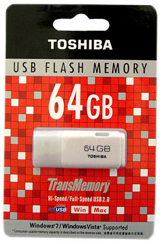 64GB Toshiba USB 2.0 Flash Memory Stick Thumb Drive Jump Drive in Computers/Tablets & Networking, Drives, Storage & Blank Media, USB Flash Drives | eBay