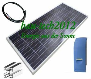 650watt solaranlage mit solarpanele wechselrichter hausanlage f r steckdose ebay. Black Bedroom Furniture Sets. Home Design Ideas