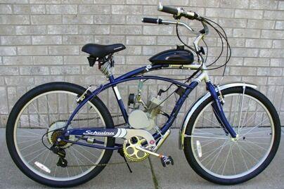 66 80cc Bike Engine Motor Kit Gas Motorized Bicycle 2 Stroke Silver T