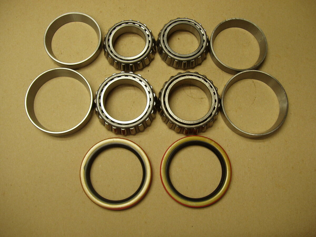 69 70 71 72 73 74 Ford Pick Up Truck F100 4x4 Front Wheel Bearing Bearings Seals