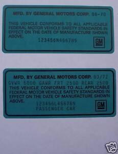 Camaro on 69 70 71 72 73 74 Chevelle Corvette Nova Camaro Buick Gs Malibu Impala