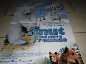 697-KINO-FILM-Plakat-KNUT-und-seine-Freunde-die-Welt-der-Baeren