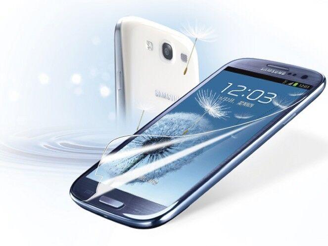 6Pcs Clear Screen Protector Guard for Samsung Galaxy SIII S3 i9300T999/i535/L71/