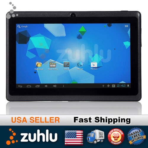 """7"""" Android 4.0 Tablet PC 5 Point Capacitive A13 1.2GHz Camera WIFI 4GB Black in Computers/Tablets & Networking, iPads, Tablets & eBook Readers 