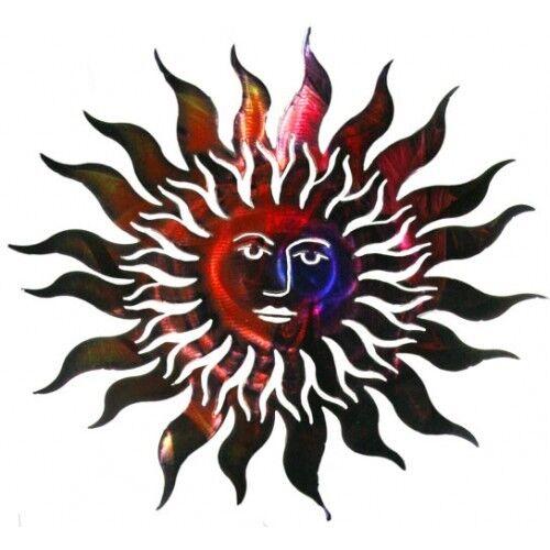 7 choices celestial sun moon metal 3d wall art decor