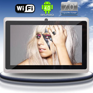 Best Deals for 7 inch Capacitive Google Android 4. A13  WIFI PAD MID Tablet  Netbook Notebook 4GB W