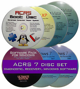 how to make dell 7720 recovery discs
