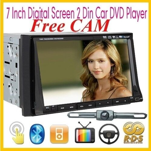 Double DIN Car Stereo DVD Player GPS Navigation Multimedia Control