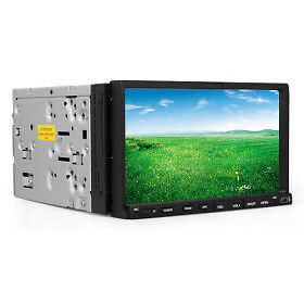 In Dash 2 Din Touch Screen DVD/CD/SD/USB Car Player  RDS Radio