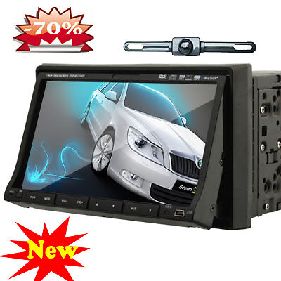 touch screen car dvd stereo system tv backup camera. Black Bedroom Furniture Sets. Home Design Ideas