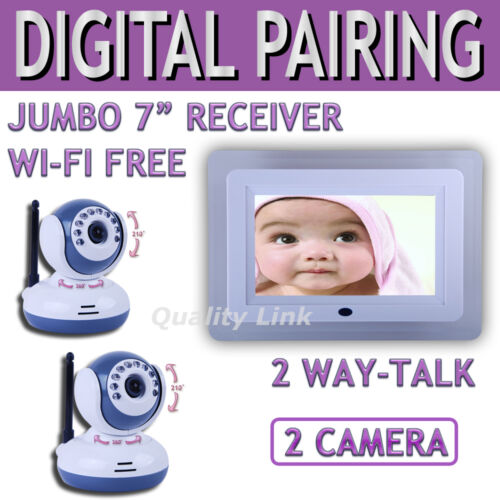 7 Wireless Digital Baby Monitor Video Intercom 2 Camera in Consumer Electronics, Gadgets & Other Electronics, Other | eBay