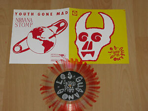 7-YOUTH-GONE-MAD-LOS-GUANOS-SNAKE-PISS-NIRVANA-STOMP-FIRST-PRESS-MINT