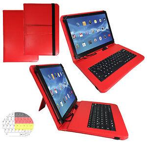 7-zoll-Qwertz-Tablet-Tasche-Netto-Tablet-Pc-XE7-Huelle-Etui-Tastatur-Rot-7