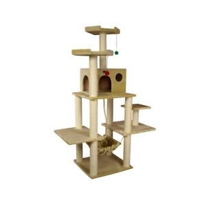 "70"" CAT TREE CONDO FURNITURE SCRATCHPOST PET HOUSE 5111 in Pet Supplies, Cat Supplies, Furniture & Scratchers 