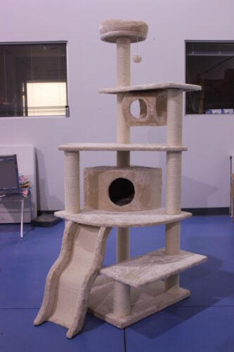 "70"" Cat Tree Scrather / House / Condo / Furniture in Pet Supplies, Cat Supplies, Furniture & Scratchers 