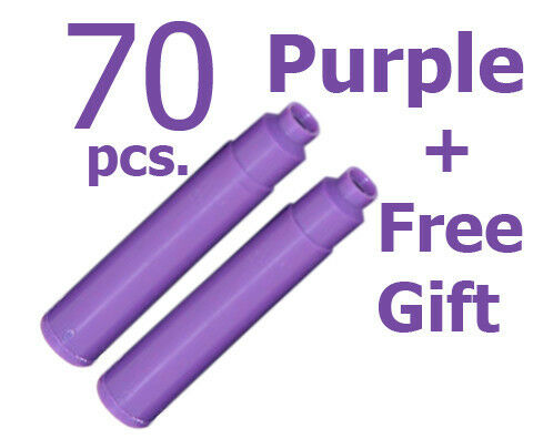 70 Fountain Pen Ink Cartridge Refills PURPLE + GIFT in Collectibles, Pens & Writing Instruments, Pens | eBay