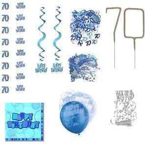 70 geburtstag girlanden konfetti servietten raumdeko tischdeko 70 geburtstag ebay. Black Bedroom Furniture Sets. Home Design Ideas
