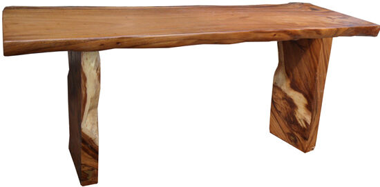 71 long monkey acacia wood console table beautiful for Long sofa table 60