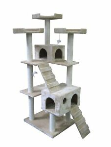 "73"" CAT TREE CONDO FURNITURE SCRATCHPOST PET HOUSE 5001 in Pet Supplies, Cat Supplies, Furniture & Scratchers 