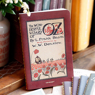 7321 Wizard of Oz Stitch Blank Notebook plain paper journal note pad in Books, Accessories, Blank Diaries & Journals | eBay