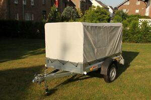 750 kg anh nger mit plane spriegel und st tzrad ebay. Black Bedroom Furniture Sets. Home Design Ideas