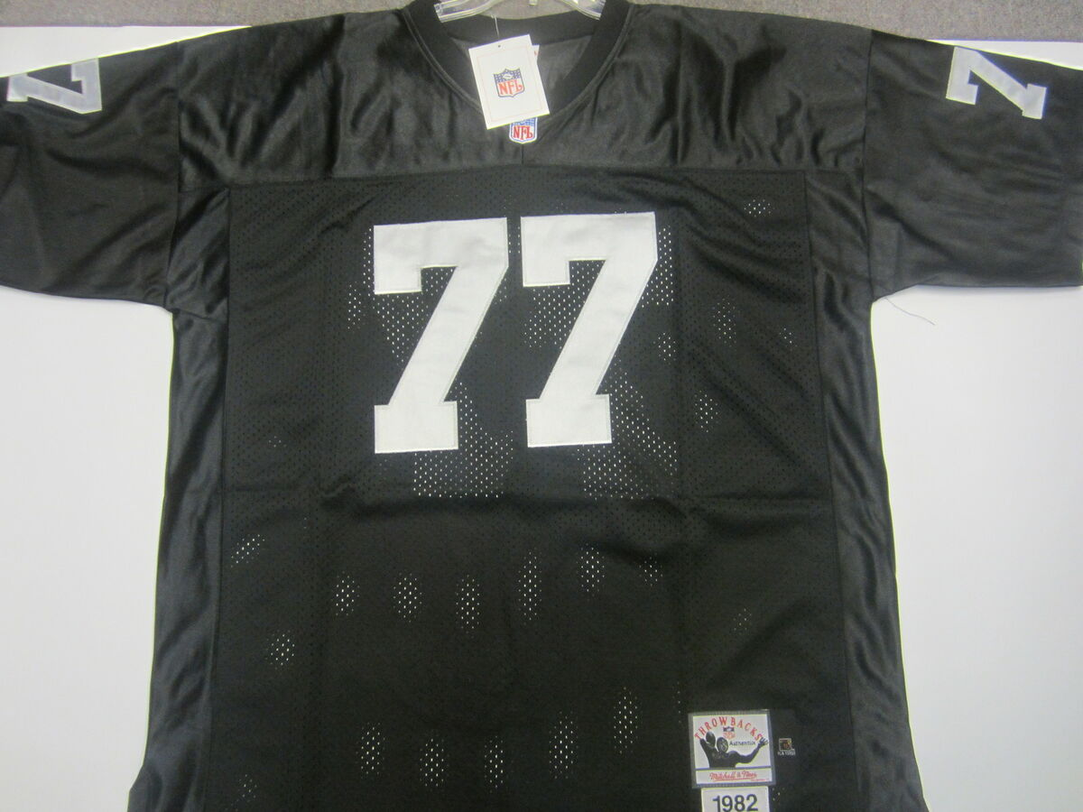 5468c0b8c88 77 Lyle Alzado Los Angeles Raiders Throwbacks Jersey on PopScreen