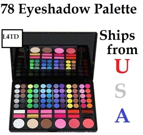 78 Color Makeup Eyeshadow Lip Gloss Blush Palette Collections Cosmetics New in Health & Beauty, Makeup, Eyes | eBay