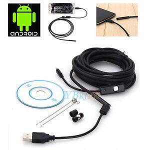7mm-USB-6-LED-Wasserdicht-Inspektionskamera-Kanalkamera-fuer-Android-Handy-SUPER