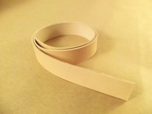 "8/9 oz Veg Tanned Natural Leather Belt Blanks 54""-60"" (Various Widths) in Crafts, Home Arts & Crafts, Leathercraft 
