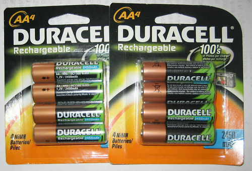 8 AA DURACELL Rechargeable Batteries *NEW* FREE shipping! Great DEAL in Consumer Electronics, Multipurpose Batteries & Power, Rechargeable Batteries | eBay