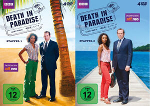 8-DVDs-DEATH-IN-PARADISE-STAFFEL-1-2-IM-SET-NEU-OVP