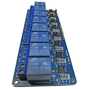 8-Kanal-5V-Relay-Relais-Modul-Bascom-Arduino-Raspberry-Pi-Optokoppler-1-x-UM