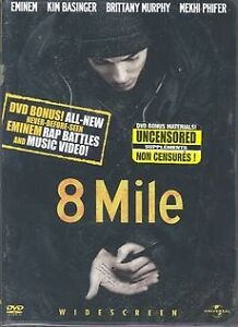 8 Mile (DVD, 2003, Widescreen; Uncensore...