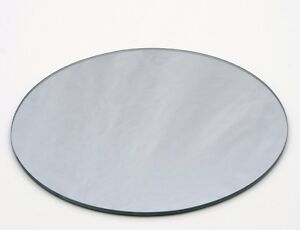 8 034 round mirror plates set of 12 ebay for 12 inch round table mirrors